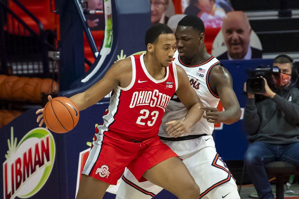 NCAA Basketball: Ohio State at Illinois
