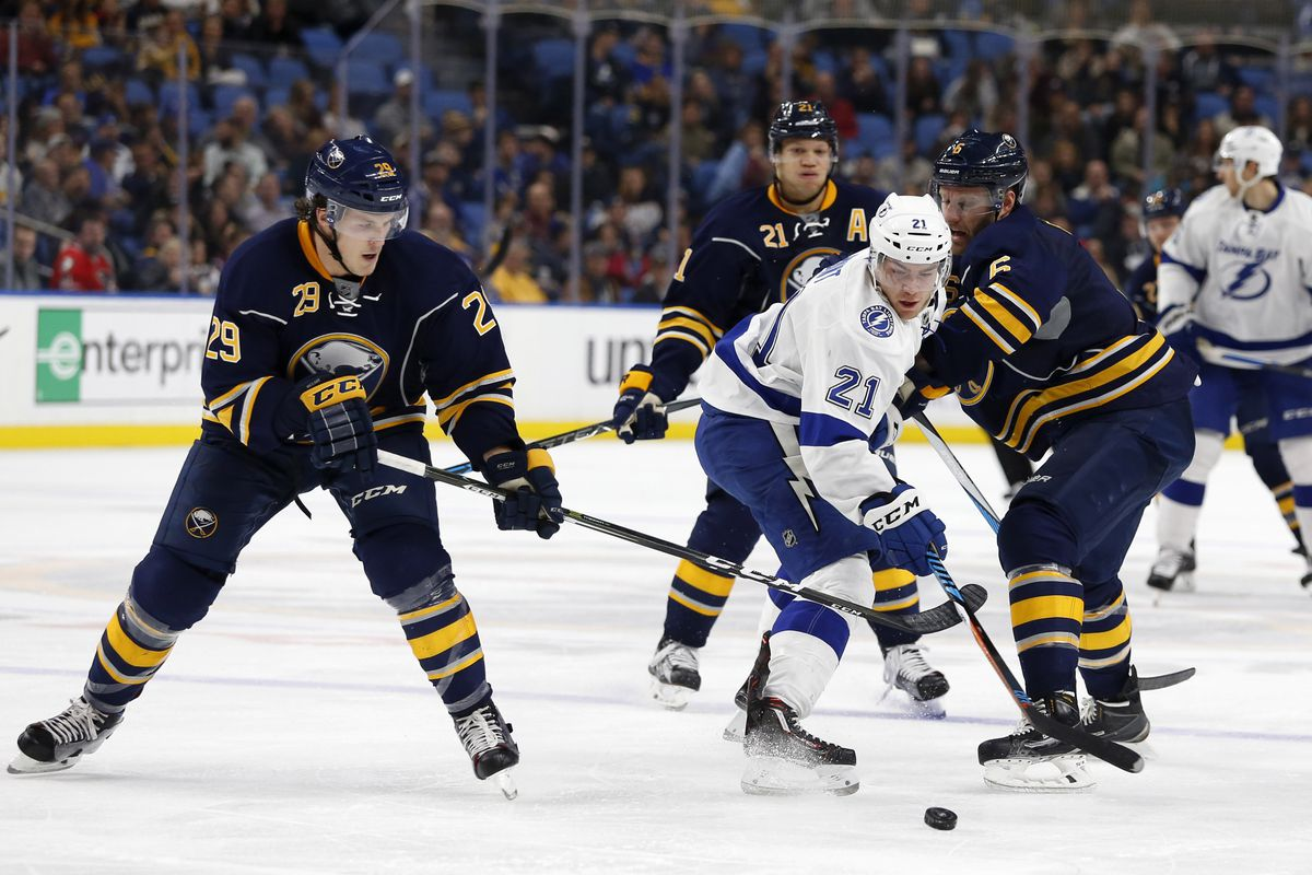 sabres vs lightning preview okposo out deslauriers in die by