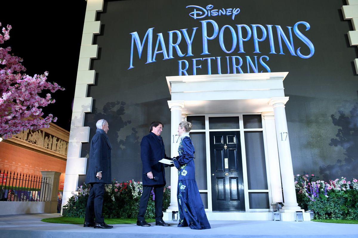 European Premiere Of 'Mary Poppins Returns'