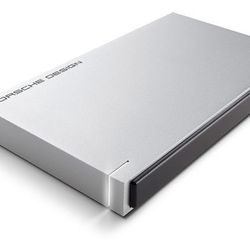 """<b>LaCie Mobile Hard Drive</b><br> If he already has a nice backpack, he still needs somewhere to store all his files - unfortunately backpacks don't do that. For <b>$109</b>, this <b><a href=""""https://www.lacie.com/us/products/product.htm?id=10588"""">LaCie"""