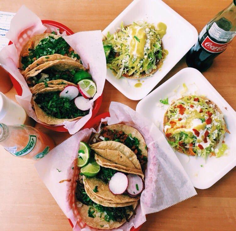 tacos and tostadas