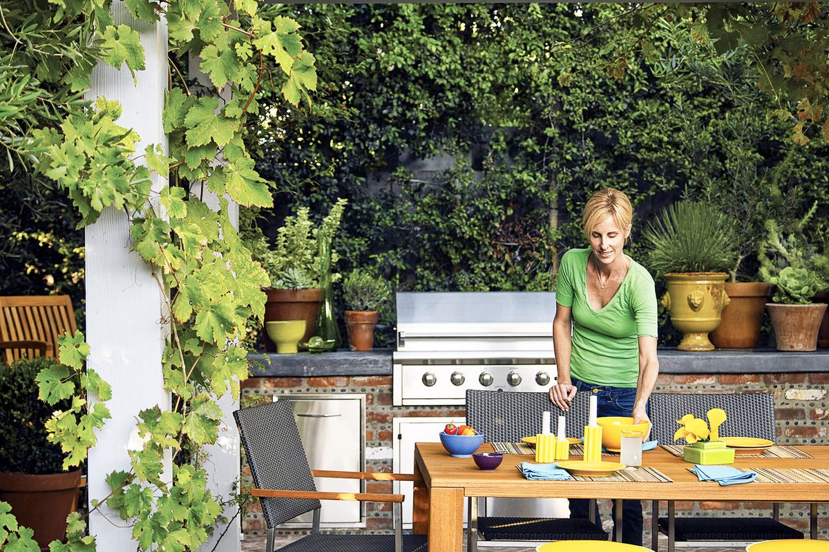 Plan The Perfect Outdoor Kitchen This Old House
