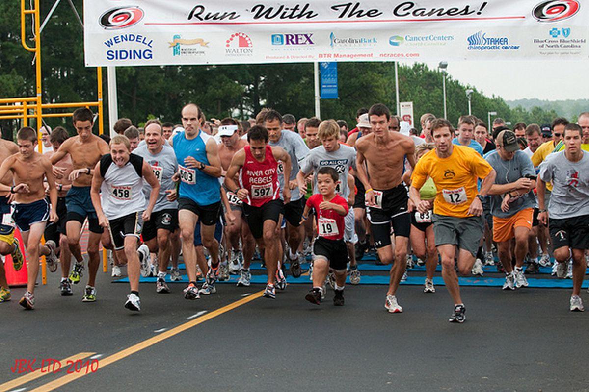 "2010 Friesen 5K Run with the Canes - <a href=""http://www.flickr.com/photos/jbk-ltd/4984653311/"">author's photo</a>"