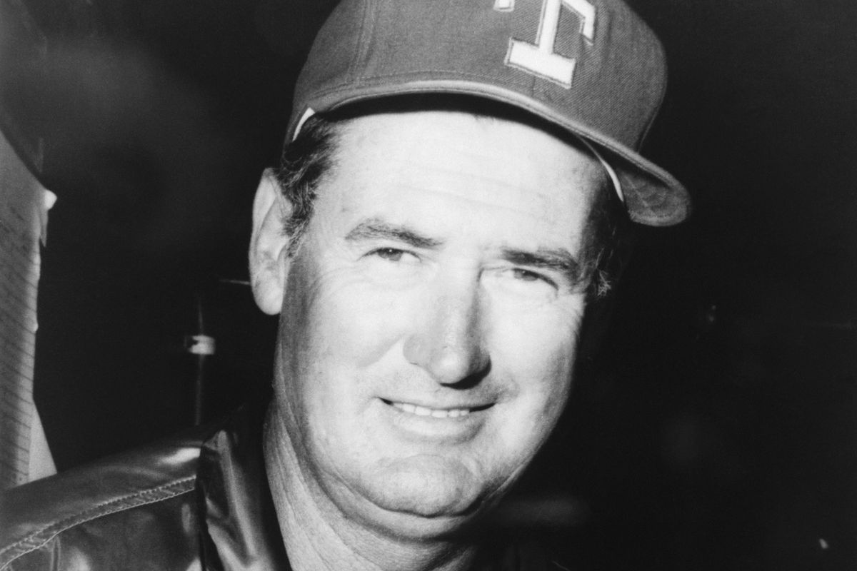 Portrait of Ted Williams Wearing Baseball Cap