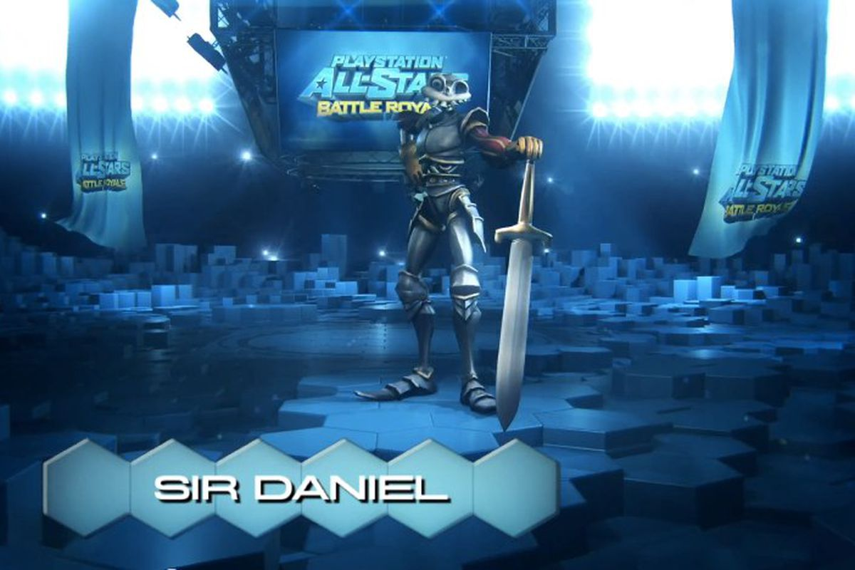 Sir Daniel Fortesque in PlayStation All-Stars