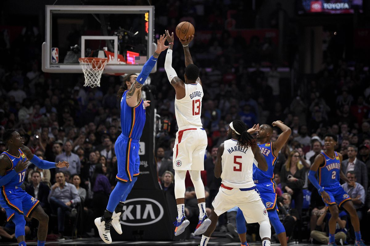 Clippers Vs Thunder Preview And Game Thread Paul George