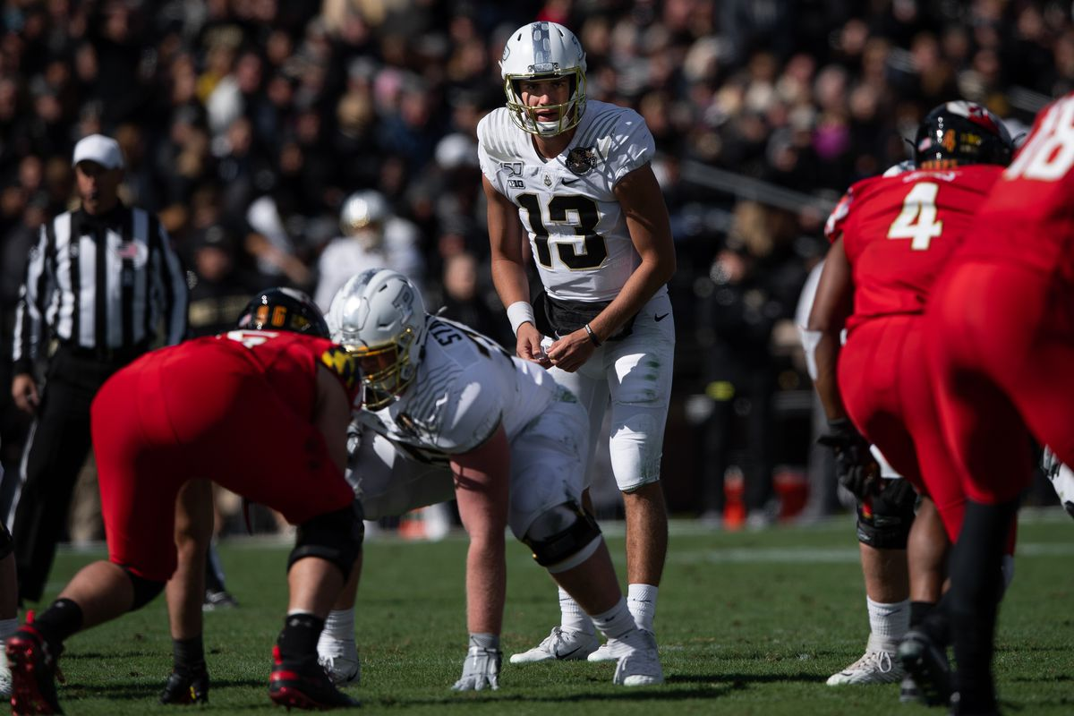COLLEGE FOOTBALL: OCT 12 Maryland at Purdue