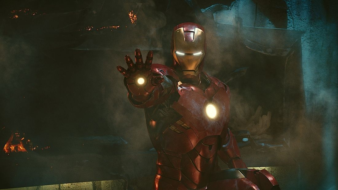 Iron Man Suit (fonte: Paramount Pictures)