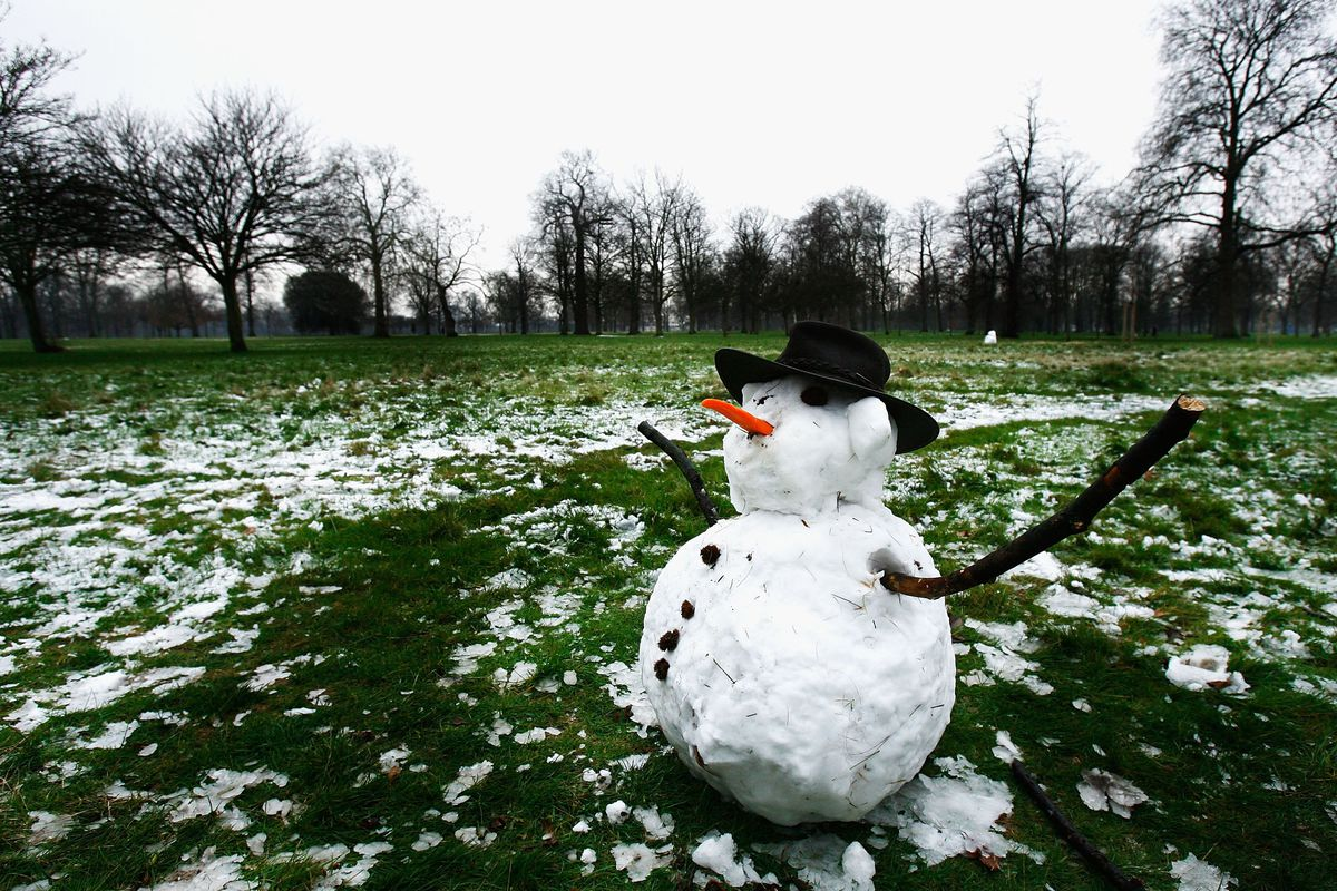 Hey Frosty, no offense, but I hope I don't see you again until 2017.