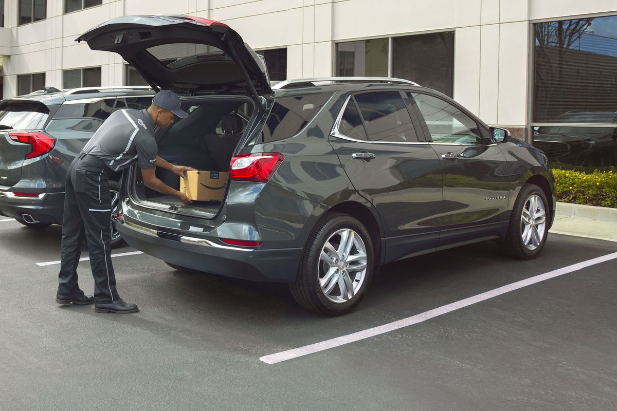 Amazon Will Now Deliver Packages To The Trunk Of Your Car The Verge