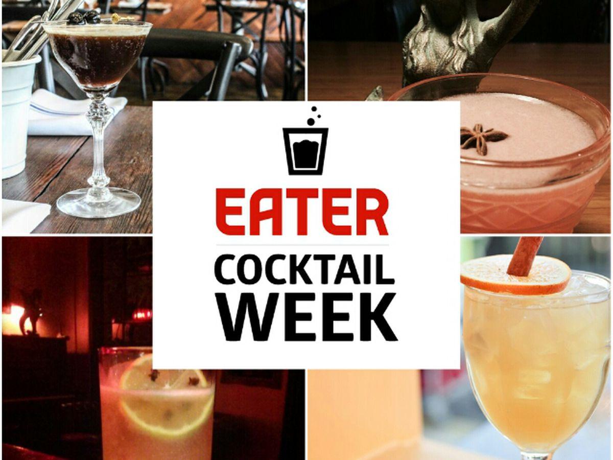 Eater Houston Cocktail Week