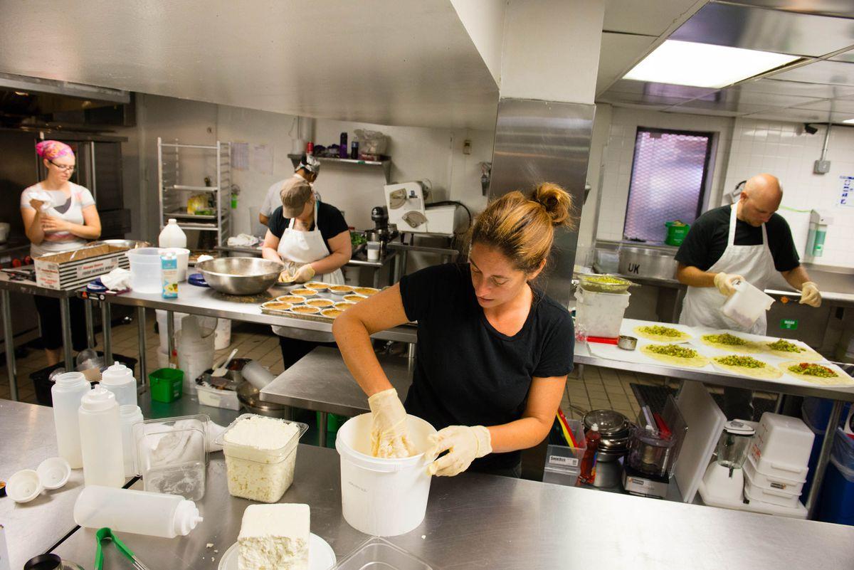 inside union kitchen an incubator in washington dc photo sarah l voisinthe washington post via getty images - Kitchen Incubator