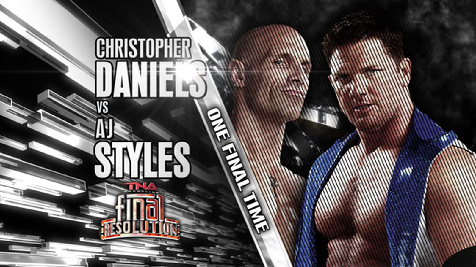 aj styles vs christopher daniels full match video preview for tna final resolution 2012. Black Bedroom Furniture Sets. Home Design Ideas