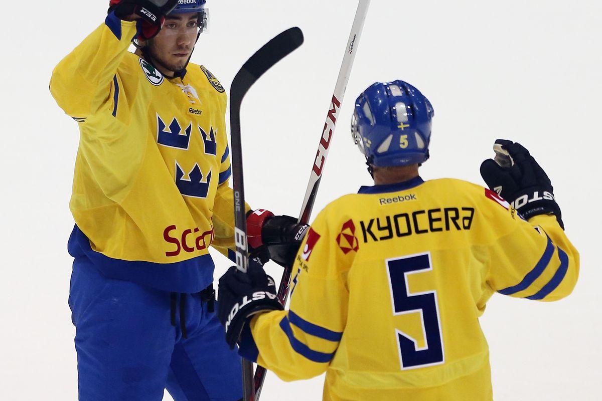 Panthers prospect  Rasmus Bengtsson (#5)