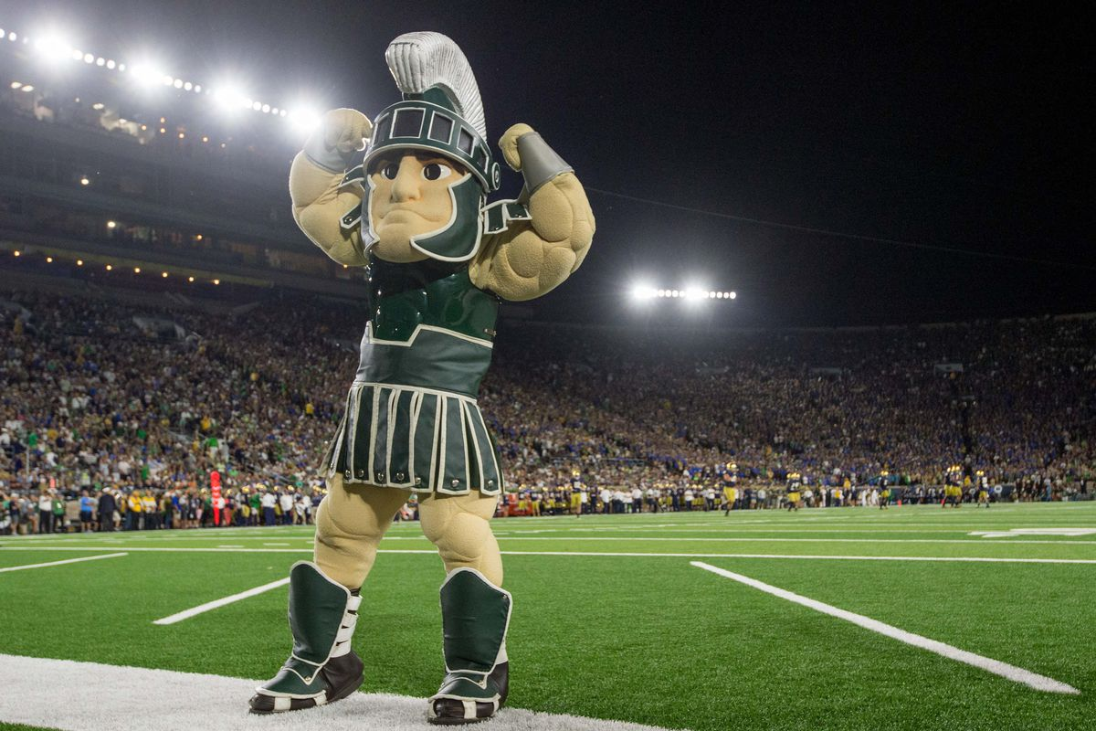 Wait 'till this guy finds out we called MSU 'kinda assy' on our podcast.