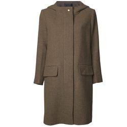 "<b>Nili Lotan</b> Front Zip Hoodie Coat, <a href=""http://www.shopzoeonline.com/shopping/women/item10527655.aspx"">$1,301</a> at Zoe"