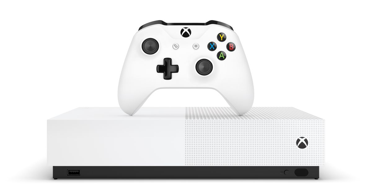 Xbox One S All-Digital Edition release date and price announced