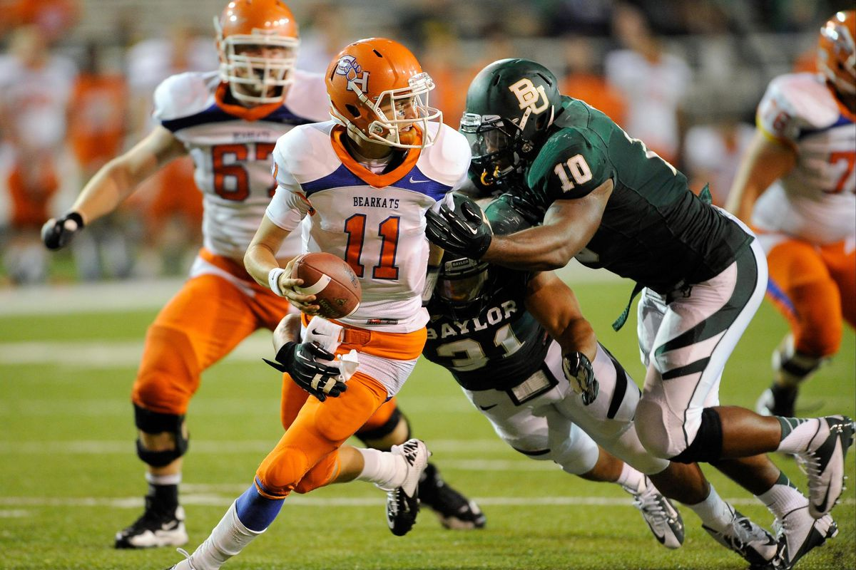 Sam Houston State Quarterback Brian Bell