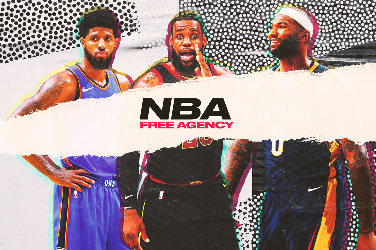 8d7f0bfd4 NBA free agency begins when the clock strikes midnight on Sunday