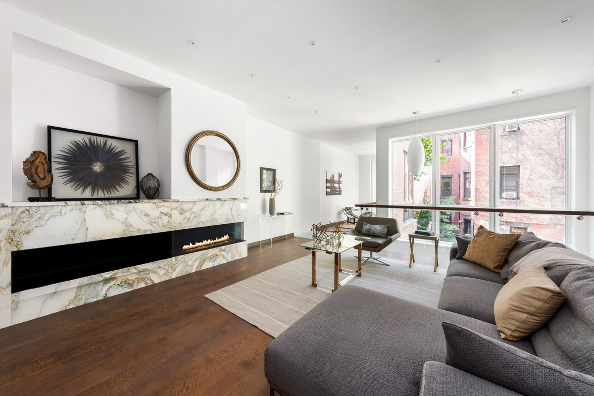 After gut reno carefully curated upper west side for Upper west side townhouse for sale
