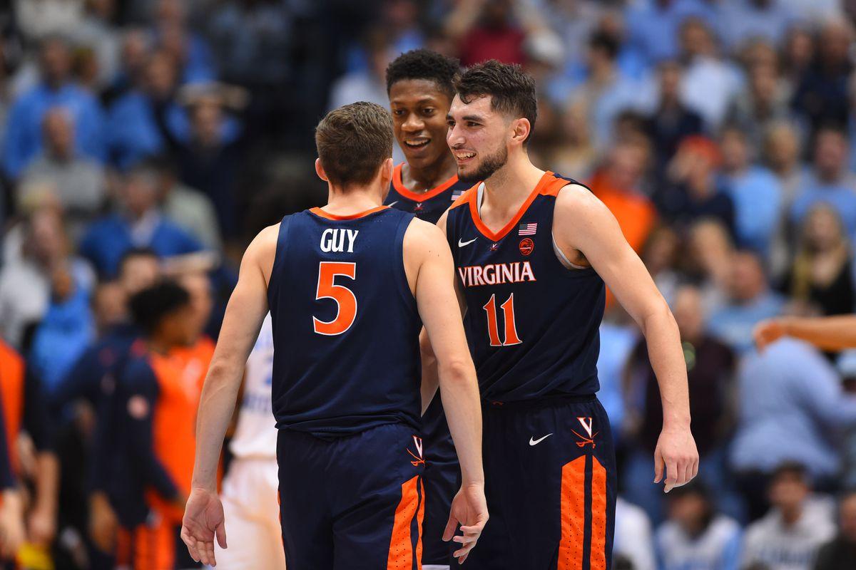 NBA Draft: Virginia's Hunter, Jerome, and Guy make a heck of a Big ...