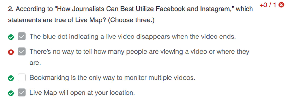 Facebook\'s journalism certification class is just a test on how to ...