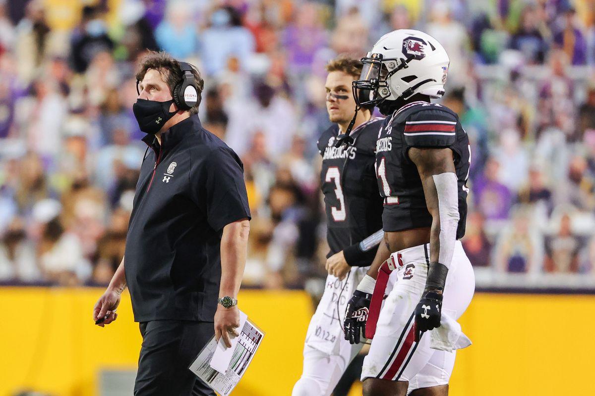 NCAA Football: South Carolina at Louisiana State