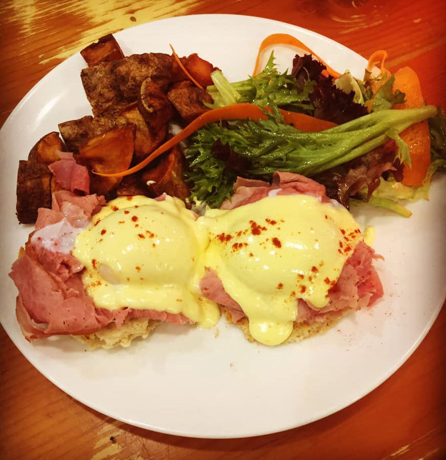 Eggs Benedict at Old Major