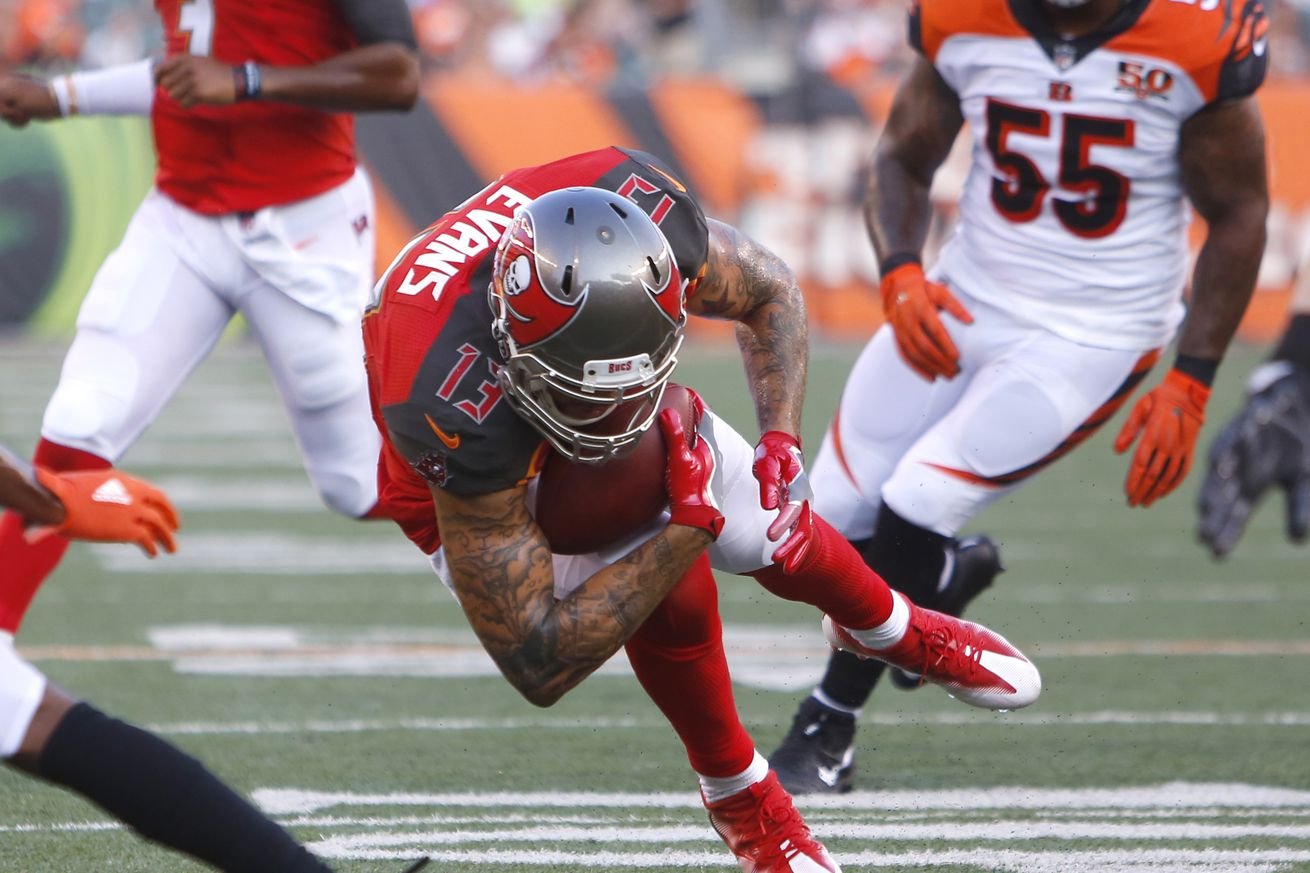 The Bucs' starters will play close to a full half against the Jaguars
