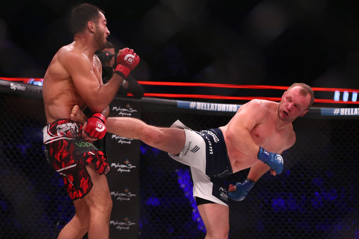 MMA: Bellator 185-Uncasville-Mousasi vs Shlemenko