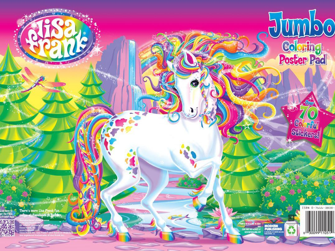 A Lisa Frank Coloring Book