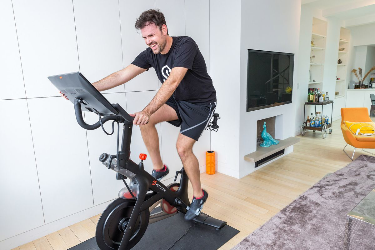 peloton to launch its smart exercise bike in the uk and canada the verge. Black Bedroom Furniture Sets. Home Design Ideas