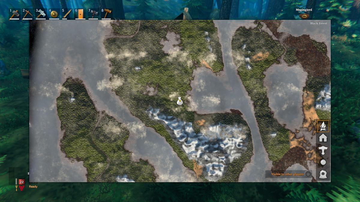 Haldor's map location in Valheim