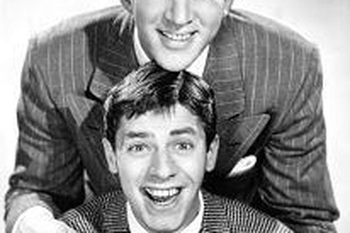 Dean Martin \& Jerry Lewis' first films make their DVD debut this week.
