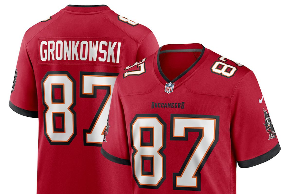 gronk throwback jersey