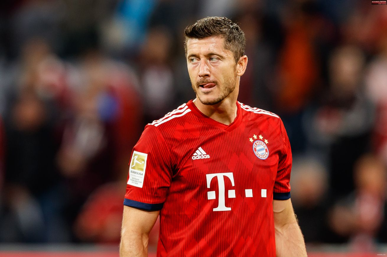 Robert Lewandowski will make his Champions League mark