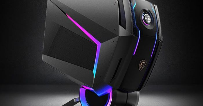MSI's new gaming PC looks like a robot's head thumbnail