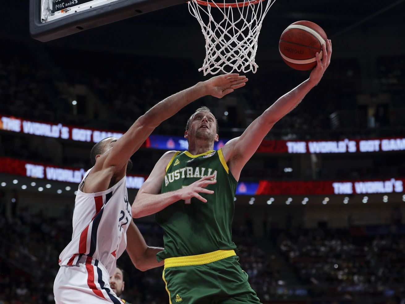 Rudy Gobert, France outlast Joe Ingles, Andrew Bogut, Australia for 3rd place in FIBA World Cup; Ricky Rubio leads Spain to title