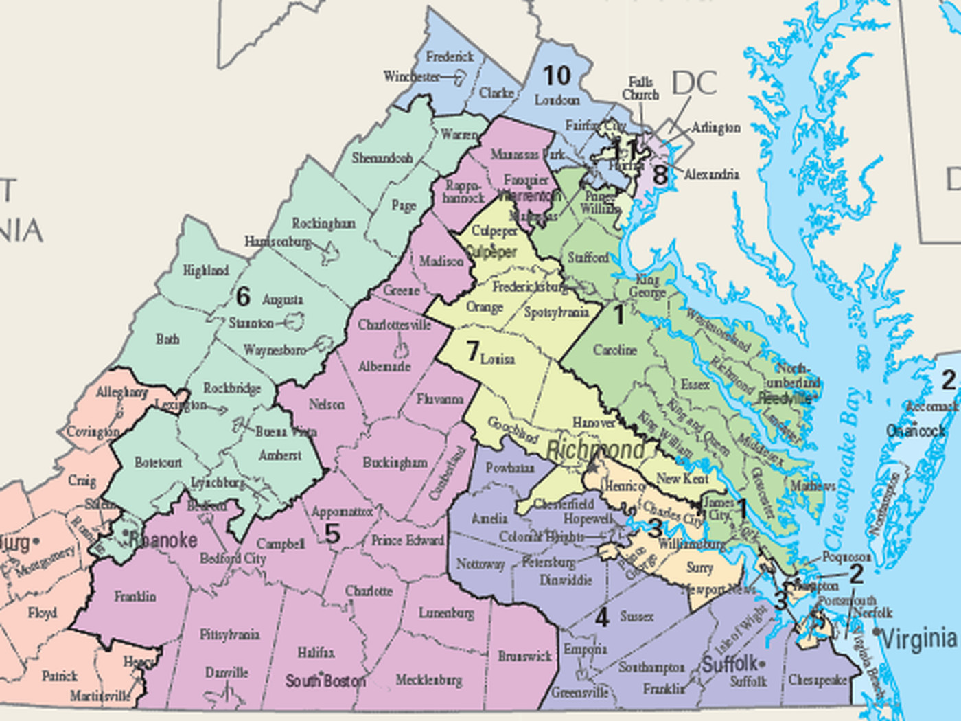 Virginia S Congressional Map Has Been Thrown Out By Judges For