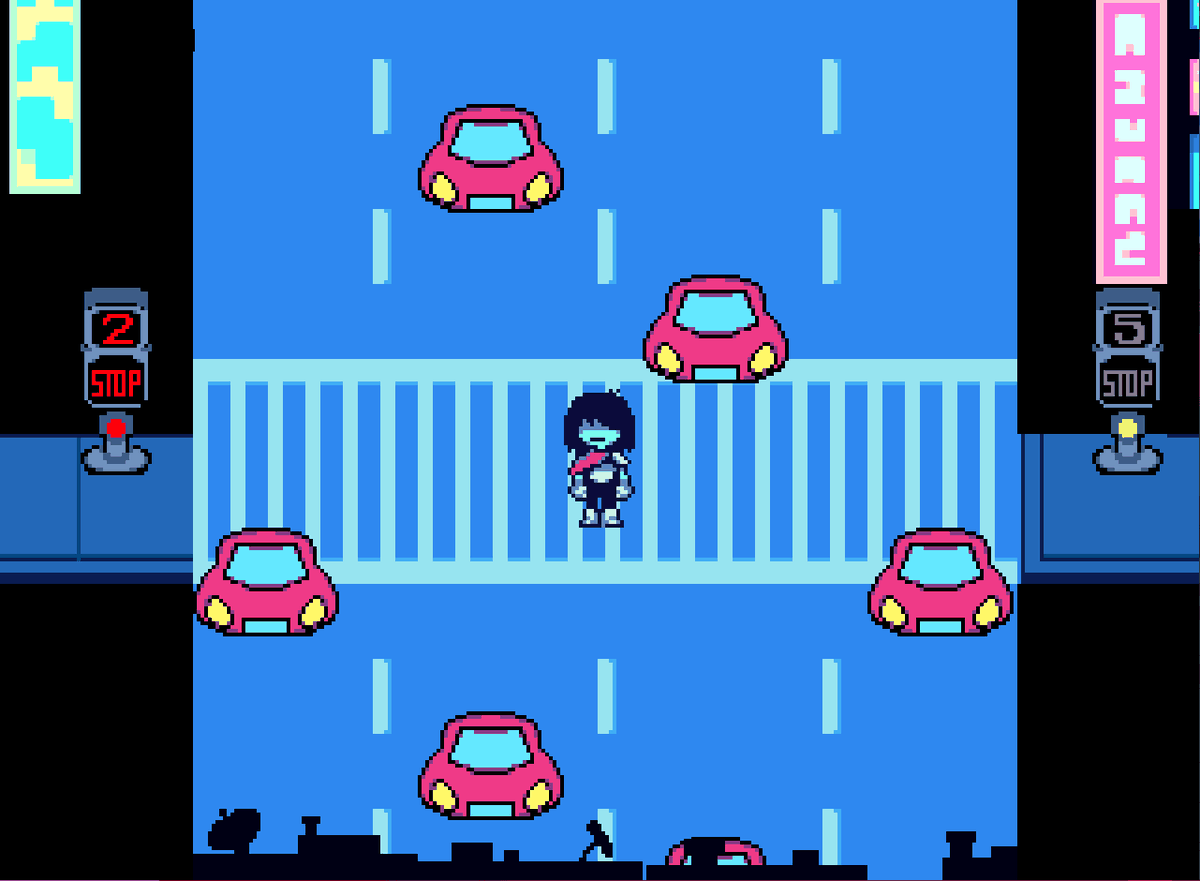 Kris from undertake navigating very dangerous traffic!