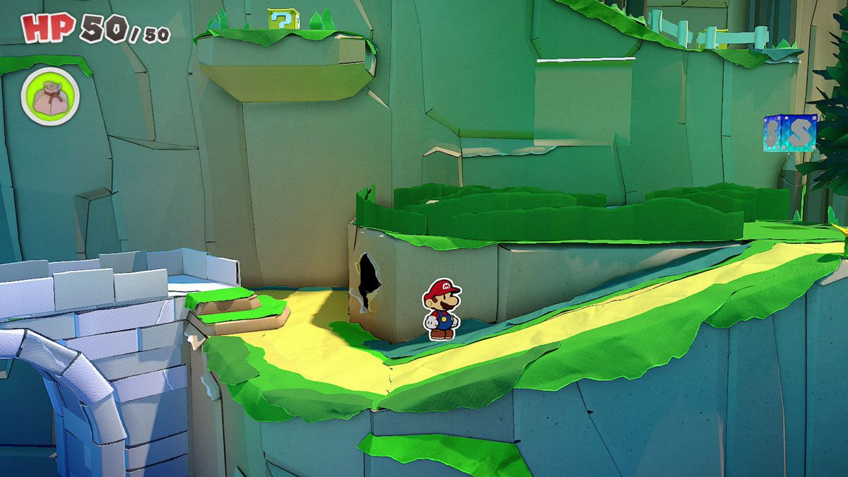 Paper Mario: The Origami King guide – Overlook Mountain collectibles locations