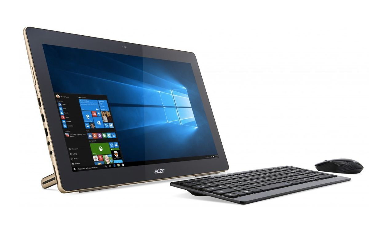acer 39 s new portable all in one windows 10 pc is already. Black Bedroom Furniture Sets. Home Design Ideas