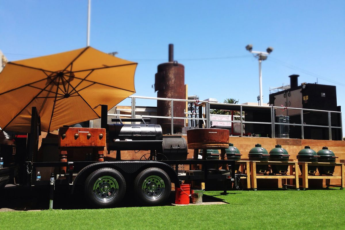The Jimmy Kimmel Backlot Barbecue pop-up