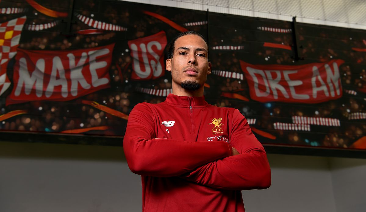 Liverpool Unveil New Signing Virgil van Dijk