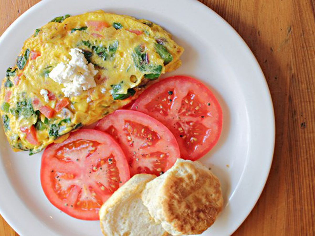 Sometimes you just need an omelet at 2 pm