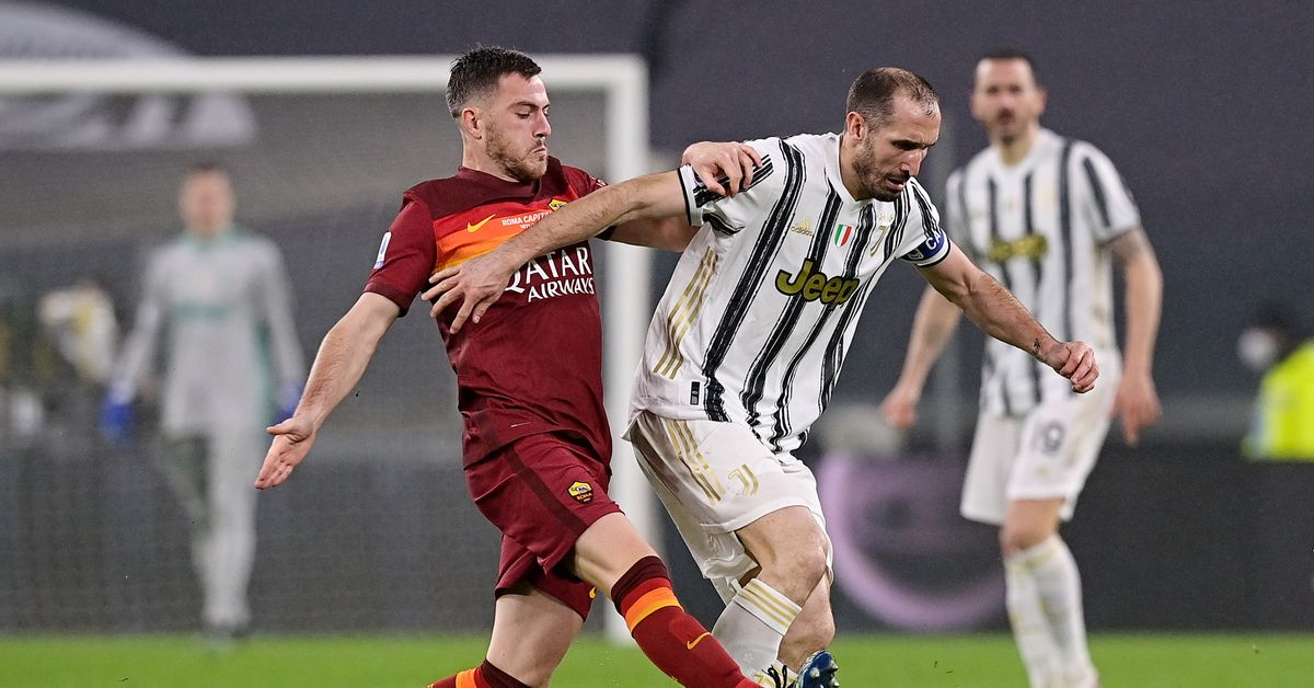 Juve shackle Roma to leapfrog them into third place - Black & White & Read All Over