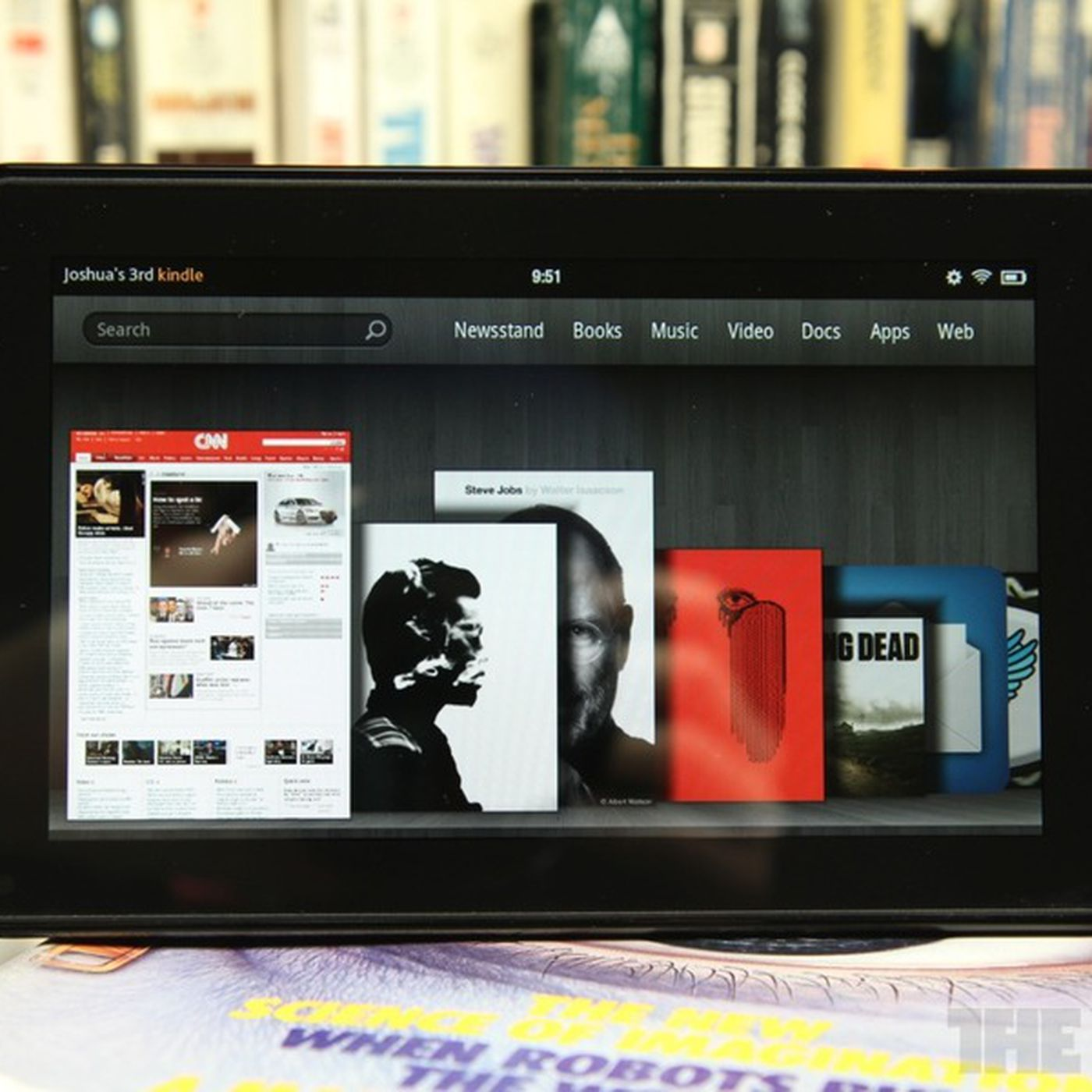 Amazon boasts that the Kindle Fire is sold out, owns 22