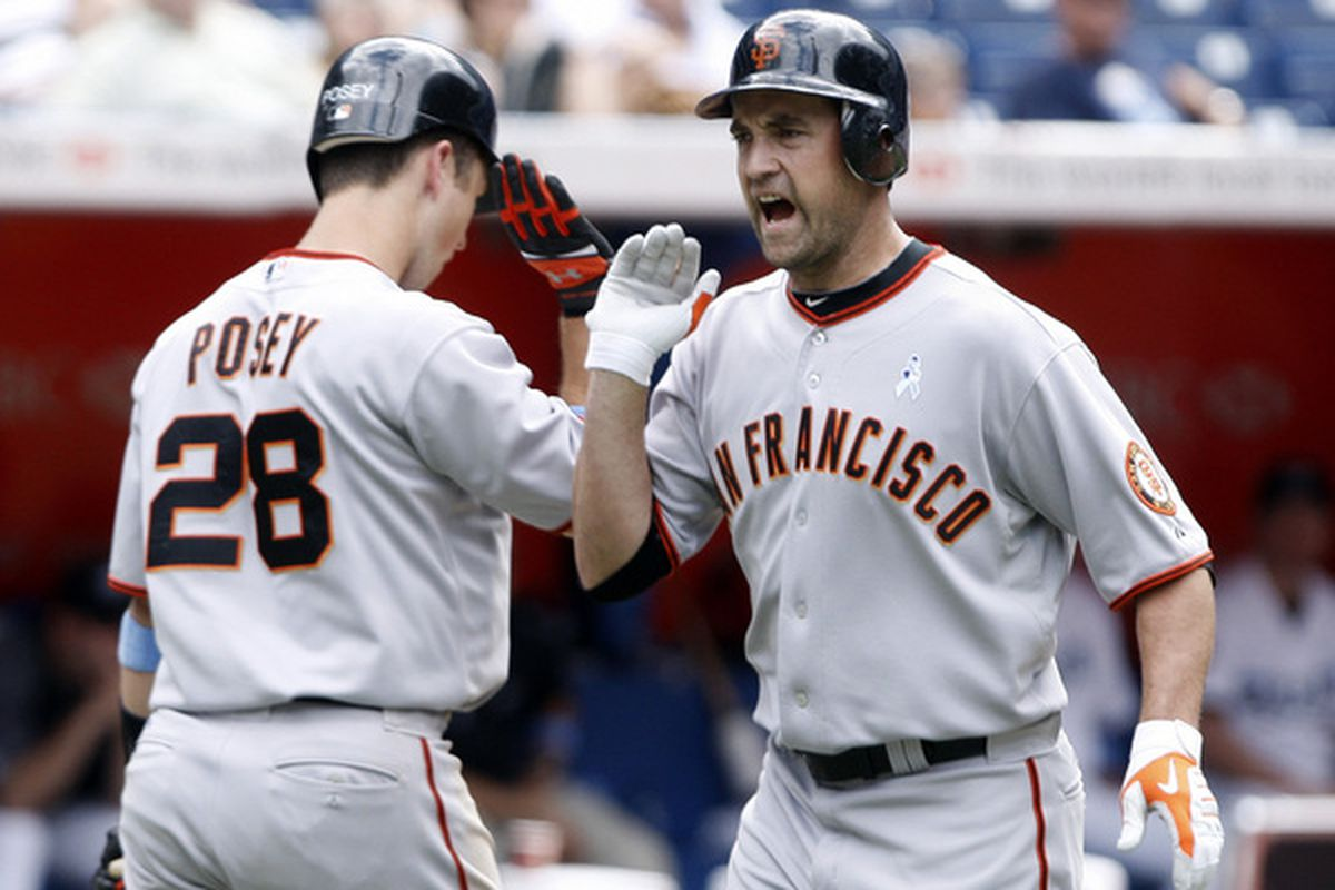 Pat Burrell is horrified by the idea that Buster Posey could catch major league pitchers without experience catching major league pitchers.