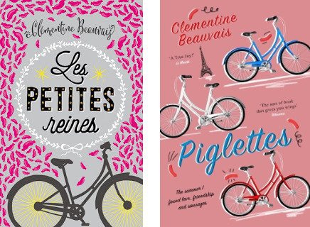 French and British book covers
