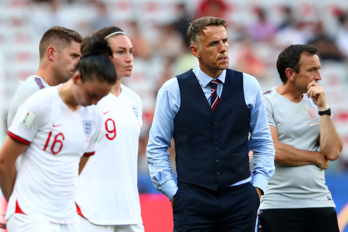 World Cup in review: Phil Neville reminds the world why they don't cheer  for England - All For XI